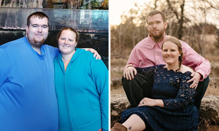 Couples Weight Loss Before/After