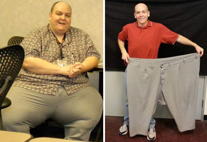 Before And After A Lifestyle Change