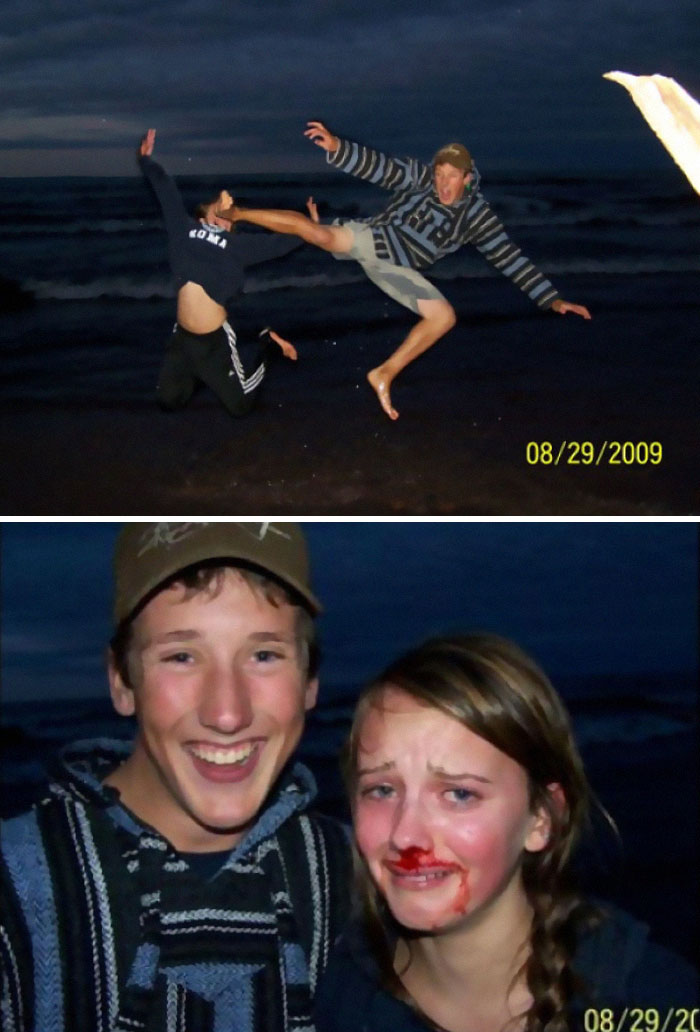 What Could Go Wrong If You Try To Take A Cool Beach Photo
