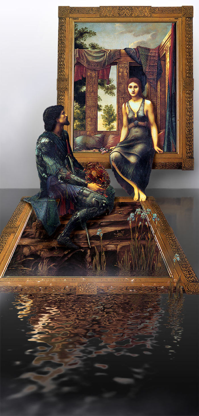 These Artists Challenged Themselves To Bring Characters From Classic Paintings To The Real World