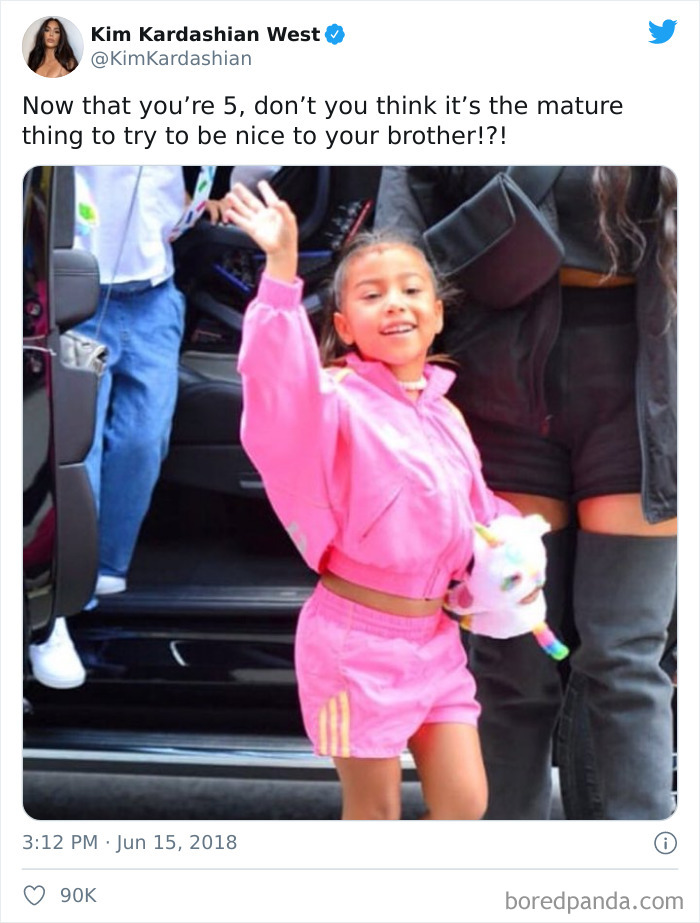 When Kim Kardashian Wanted To Wish Her Daughter A Happy Birthday But Ended Up Trolling Her Instead