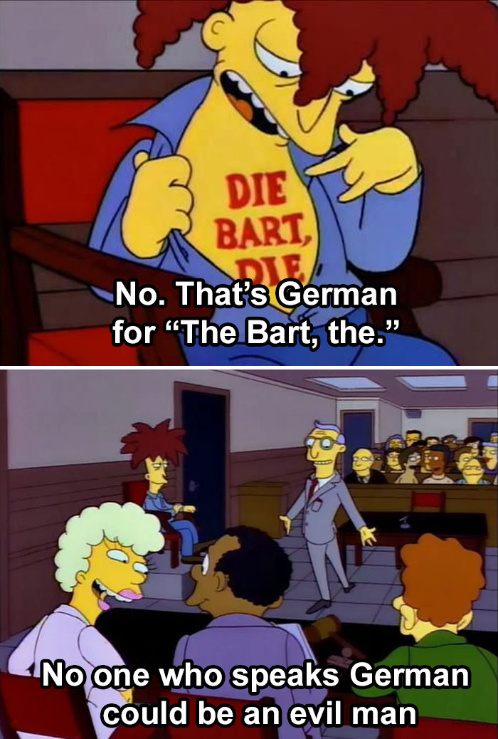 When Even The Simpsons Had To Show The World How The German Language Is Trolling Everyone