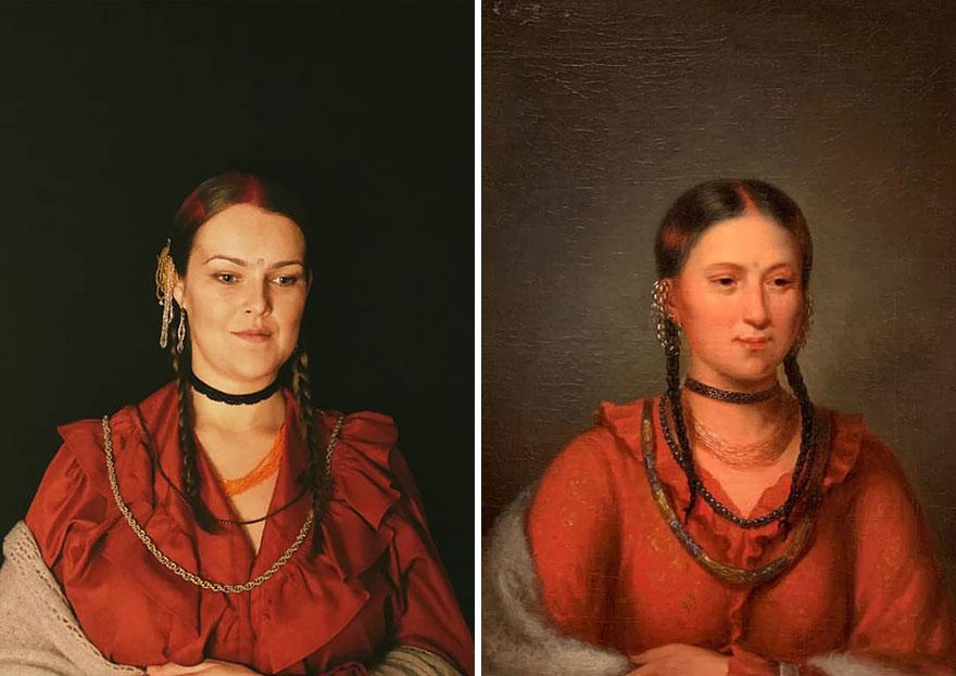 "Henry Inman ""Hayne Hujihini, Eagle Of Delight"" (1832-33)"