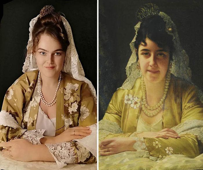 "Jan Frederik Pieter Portielje ""Belleza Española"" (1880)"