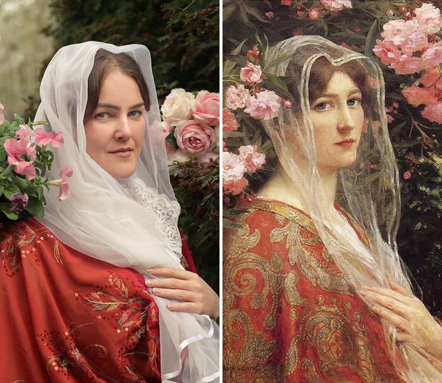 """Elizabeth Sonrell """"Cordelia"""" (~1901)"""
