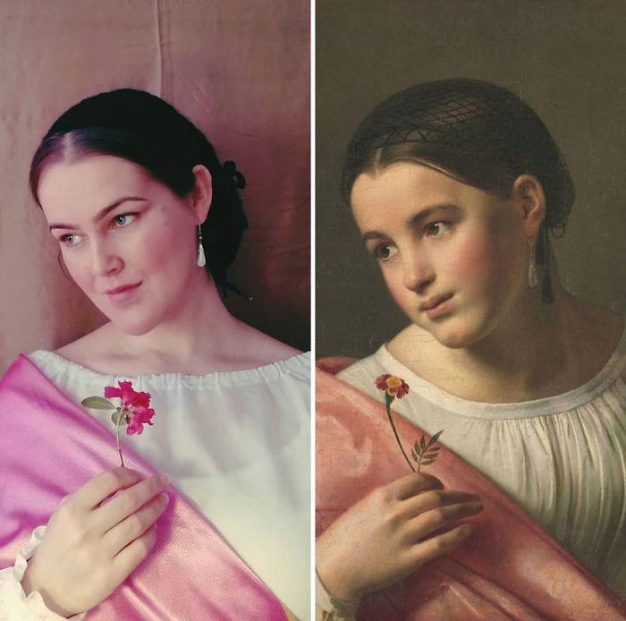"Orest Adamovich Kiprensky ""Pobre Lisa"" (1827)"