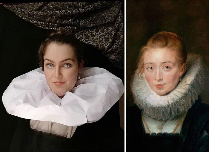 "Peter Paul Rubens ""La Hija De Rubens, Clara Serena"" (1623)"