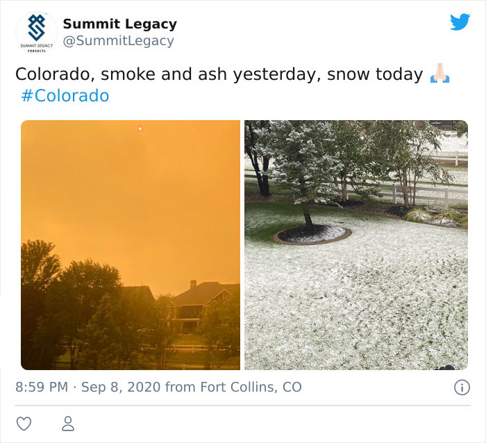 Snow Falls In Colorado Just 48 Hours After A Record Heatwave And It Proves  Nothing Is Impossible In 2020 (20 Pics) - Hide Out Now