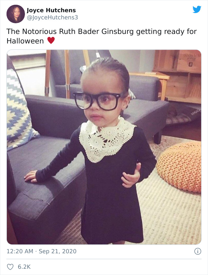 Mother and father Are Dressing Up Their Daughters As Ruth Bader Ginsburg As a result of She Was 'All the pieces [They] Ought to Attempt For'