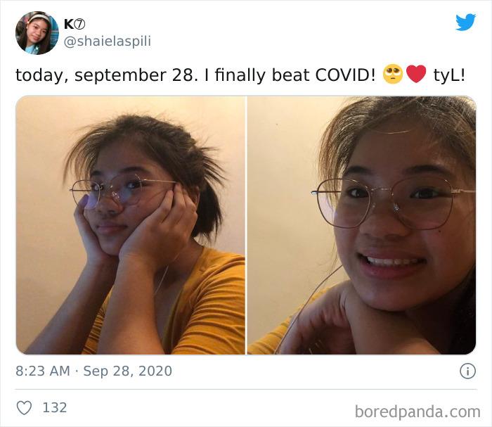 I Beat Covid-19