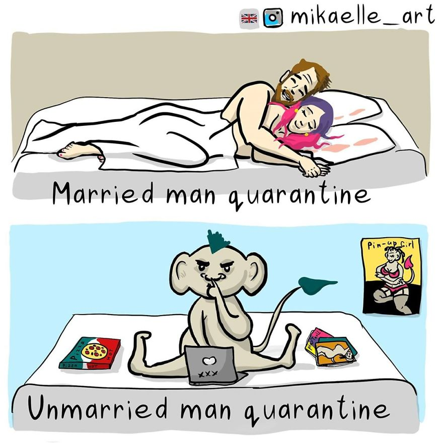 I Think That The Married Quarantine Is Better