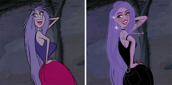 Artist Reimagines Disney Characters As Modern Day Women And Men, People Love It