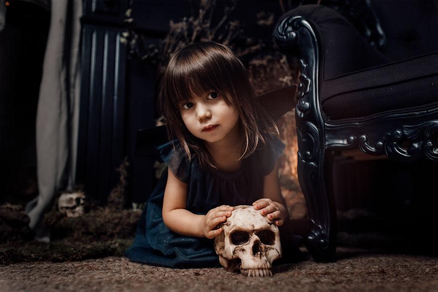 Halloween Style Photoshoot For My Kid