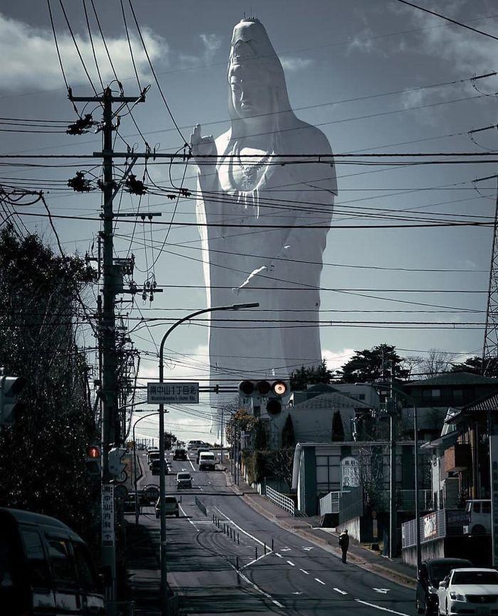 Sendai Daikannon, una de las estatuas más altas del mundo