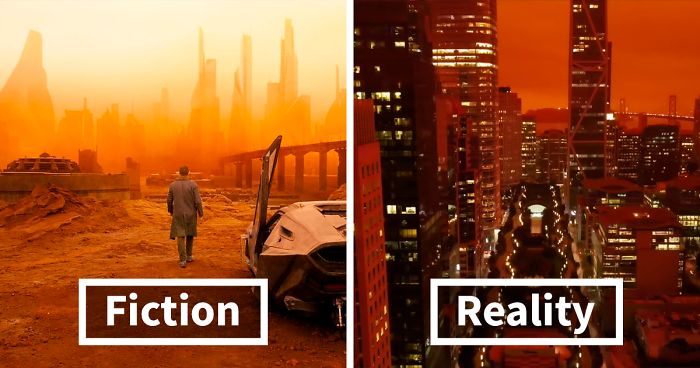 Drone Footage Of San Francisco Engulfed In Wildfire Set To The Blade Runner 2049 Soundtrack Goes Viral Bored Panda