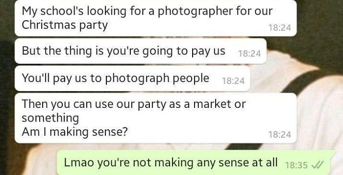 Am I Making Sense?