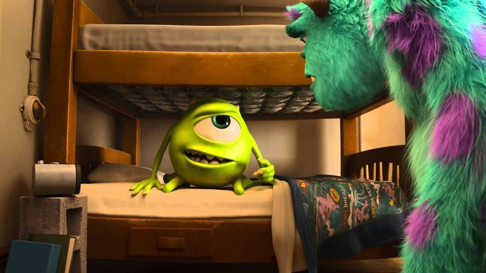 In Monsters U Power Comes From Screams Which Appear As A Gaseous State In The Scream Tanks. Because Power Here Is A Gas, Light Switches Are Valves And Instead Of Wires There Are Pipes