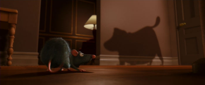 In Ratatouille, The Dog Barking At Remy Is Doug From Up