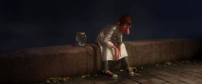 For A Scene In Ratatouille (2007) Where Linguini Is Wet From Jumping In The River, They Got A Member Of Crew (Kesten Migdal) To Jump In A Swimming Pool In A Chef's Uniform To See Where The Uniform Would Normally Stick To On The Body When Wet