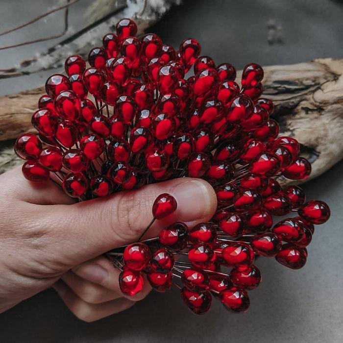 Jugosas semillas de granada