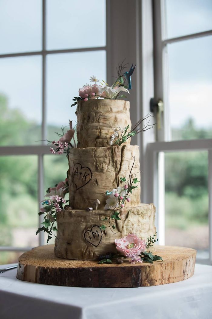 My Wedding Cake: 100% Edible