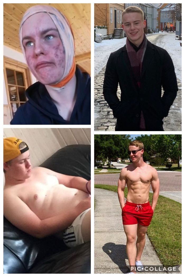 3 Years With A Lot Of Time In The Gym And Taking Care Of My Skin