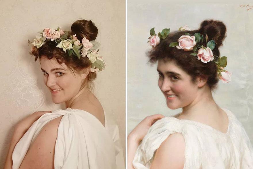 "Tito Conti ""An Italian Beauty"" (~1880)"