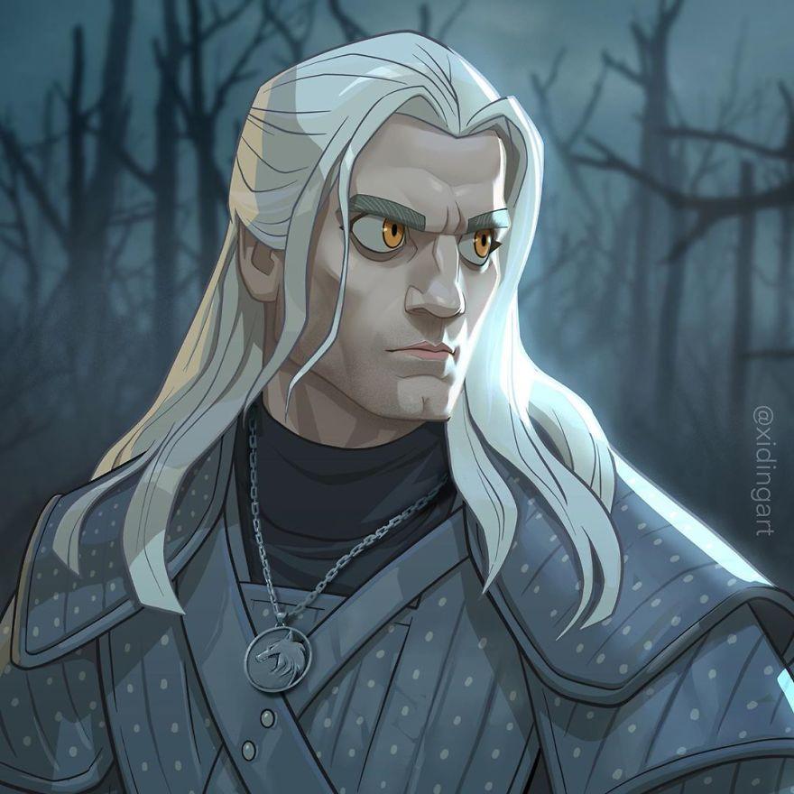 Henry Cavill (Geralt Of Rivia)