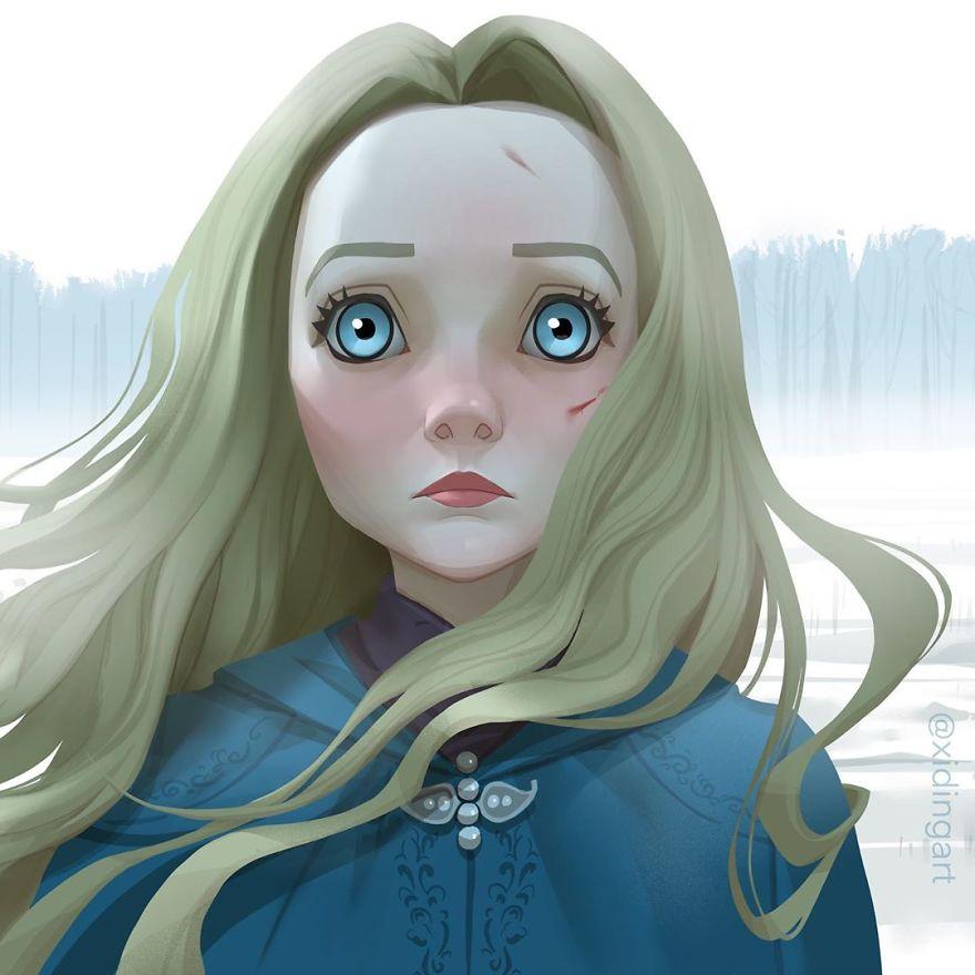 Freya Allan (Princess Cirilla)
