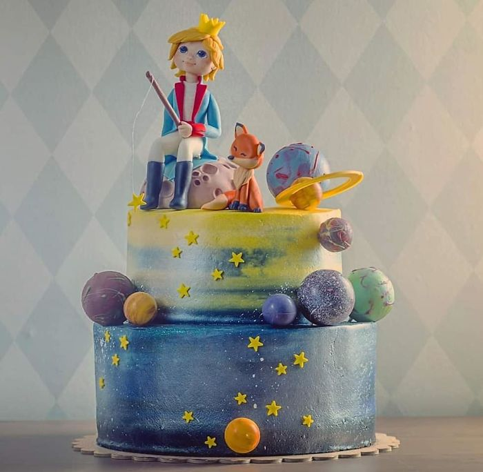 We Are Super Proud Of Ourselves! It Was A Huge Pleasure Makes The Little Prince Cake