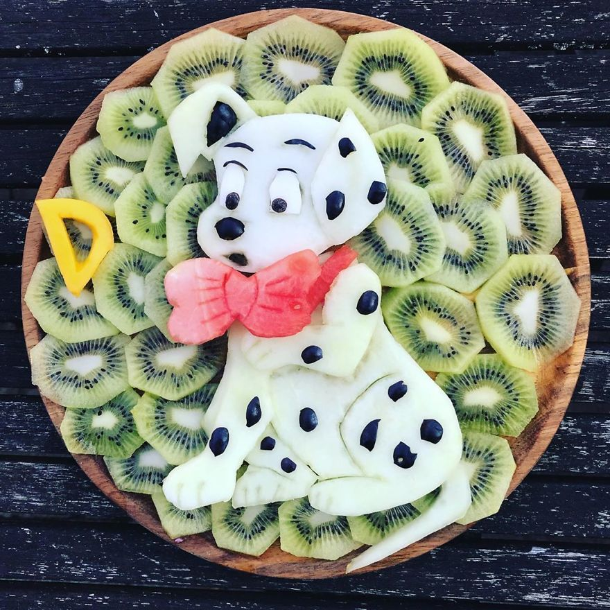 Delicious And Creative Food Art