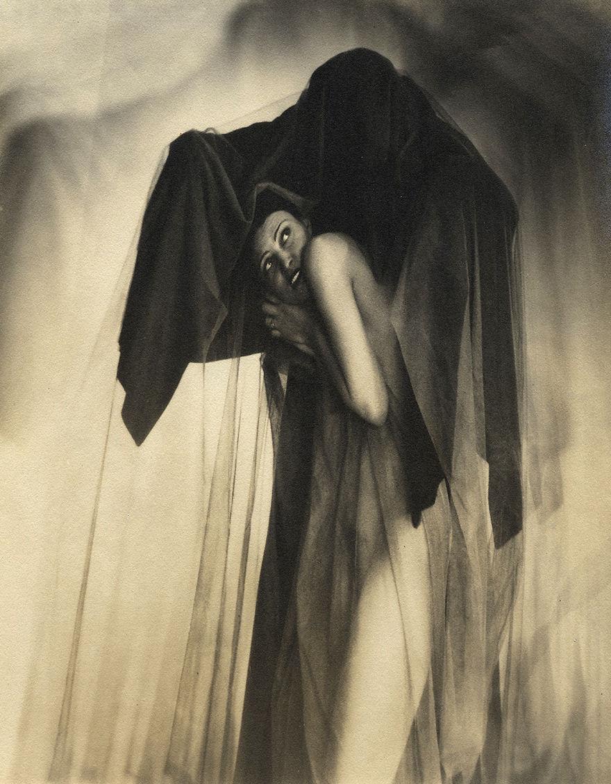 """William Mortensen """"Obsession,"""" 1928 Photograph"""