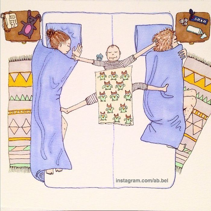 Norwegian Mom Doesn't Censor What Motherhood Really Looks Like In Her 30 Illustrations