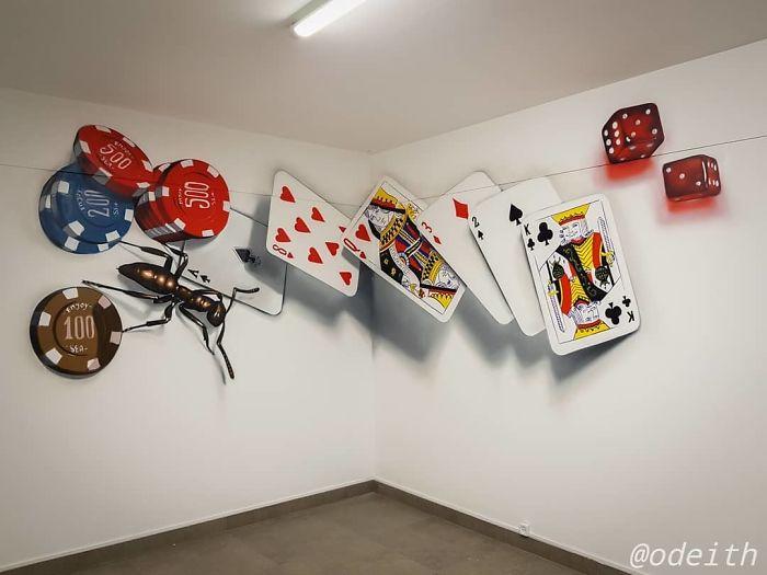 Оригинальные 3D граффити