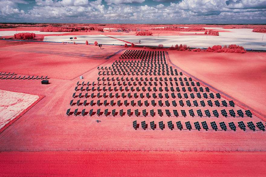 I Used An Infrared Camera To Take Otherwordly Drone Landscapes