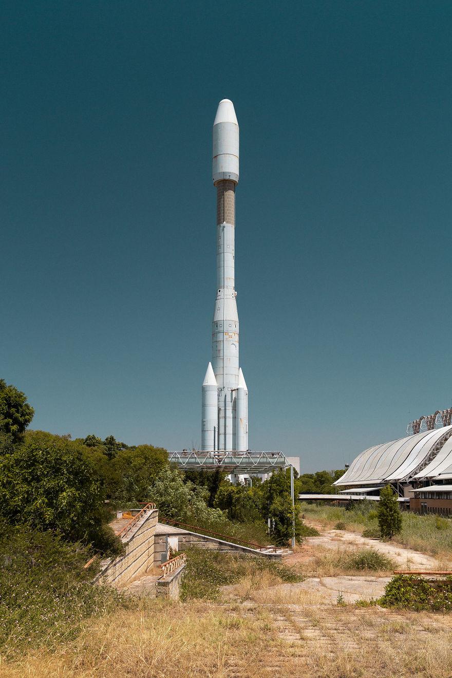 Abandoned Rocket
