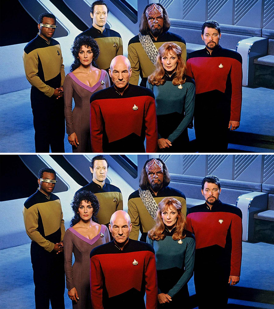 """Star Trek"" (10 Differences)"