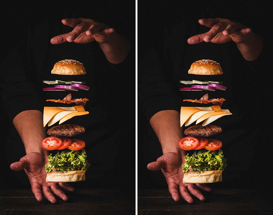 Burger (10 Differences)
