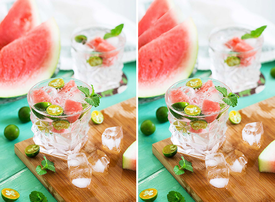Watermelon Drink (12 Differences)