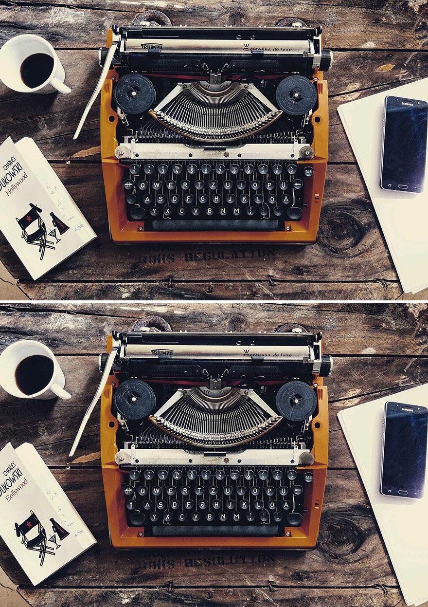 Typewriter (13 Differences)