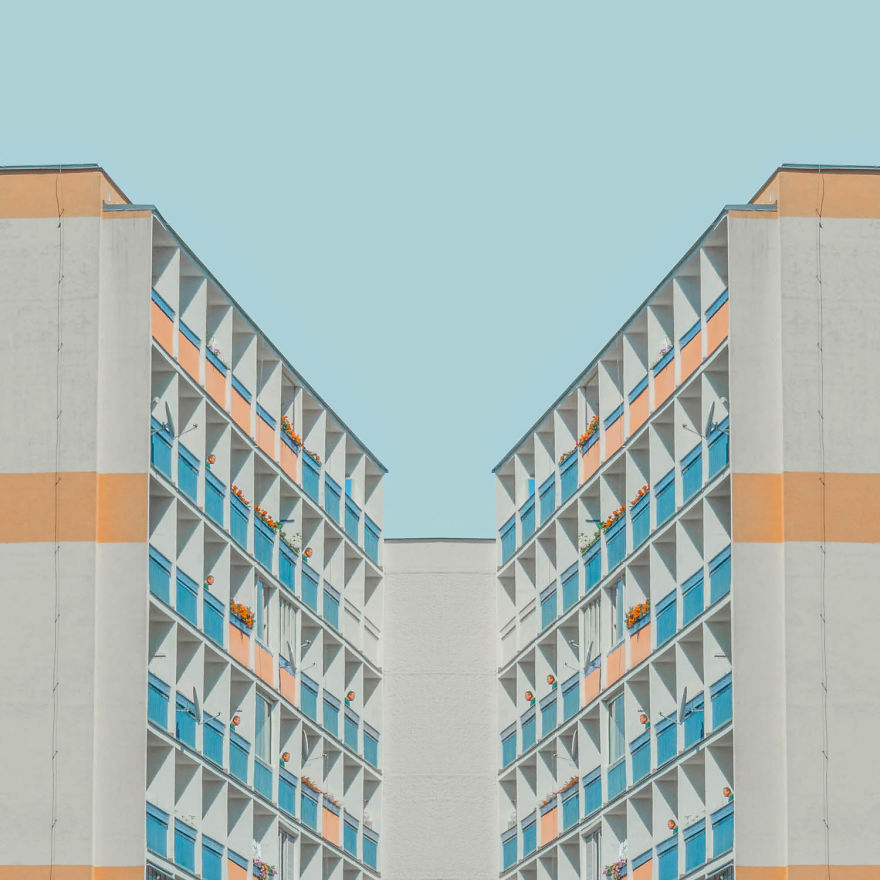 Pandemic Situation Inspired Me To Create Minimalistic Architecture Photography.