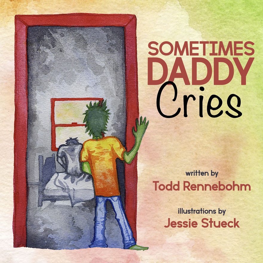 I Have A Family, But I Struggle With Depression And Addiction, So I Made This Children's Book To Help Explain It