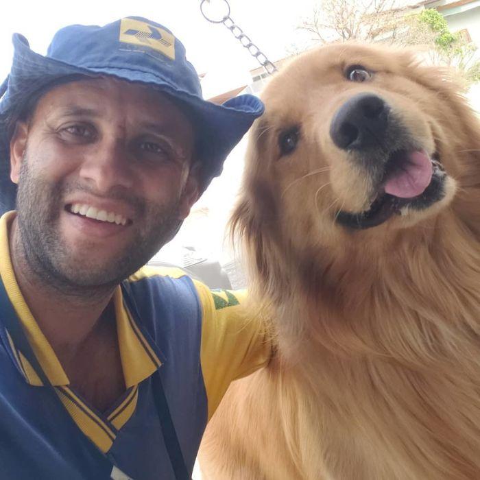 Ten brazylijski listonosz przełamuje stereotyp, że psy nie lubią listonoszów (120 zdjęć)