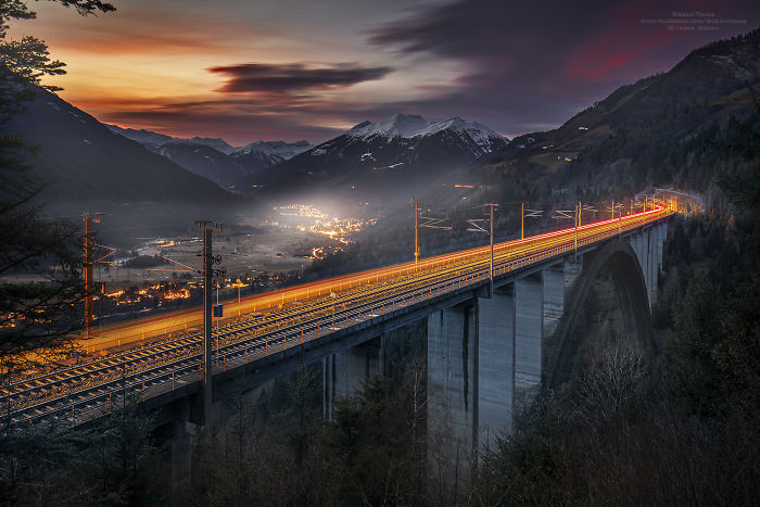 I Spent Five Years With Taking Train Pictures At The Most Exciting Places