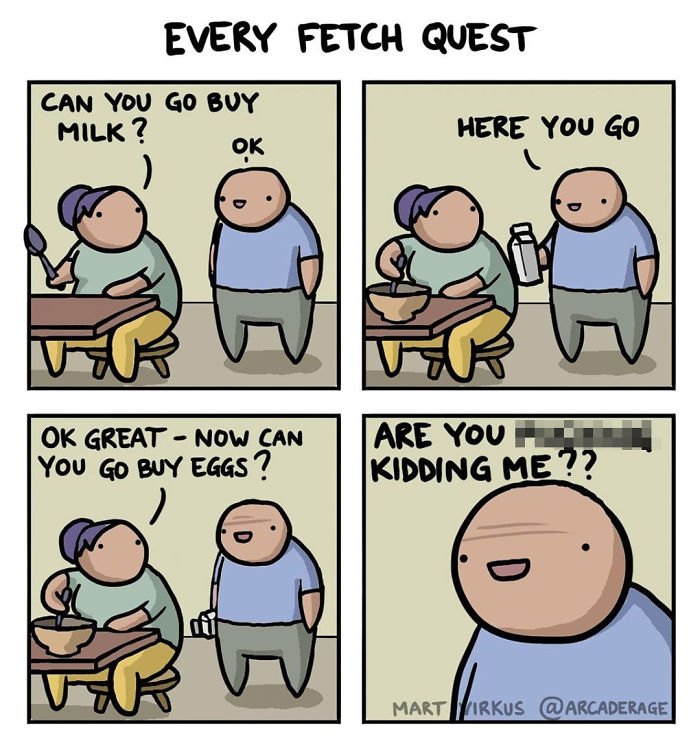 Every Fetch Quest Ever