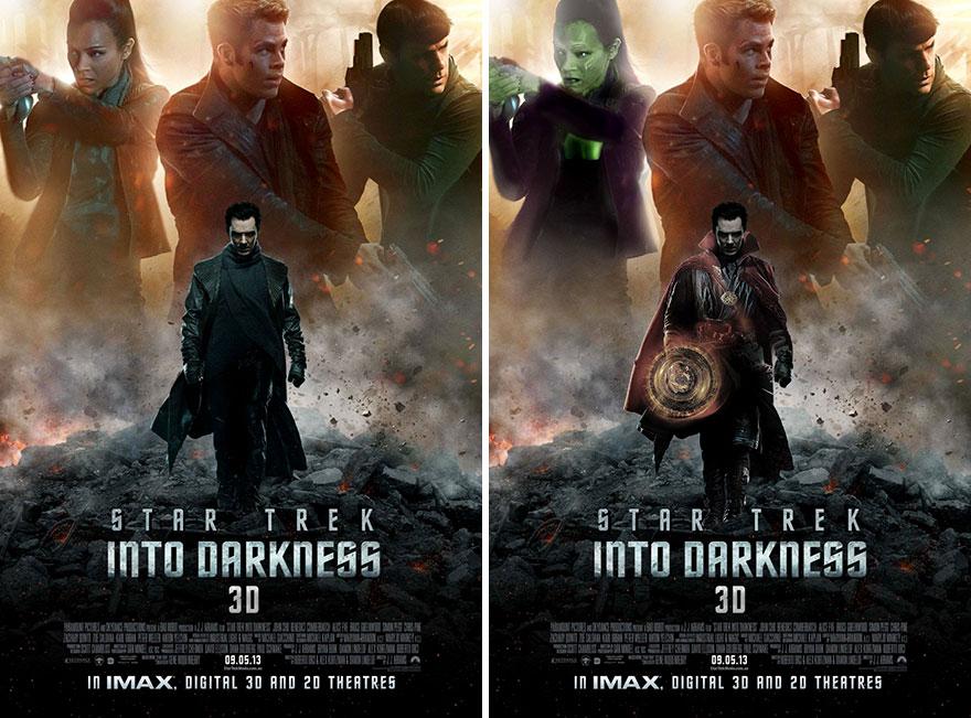 Doctor Strange And Gamora In Star Trek