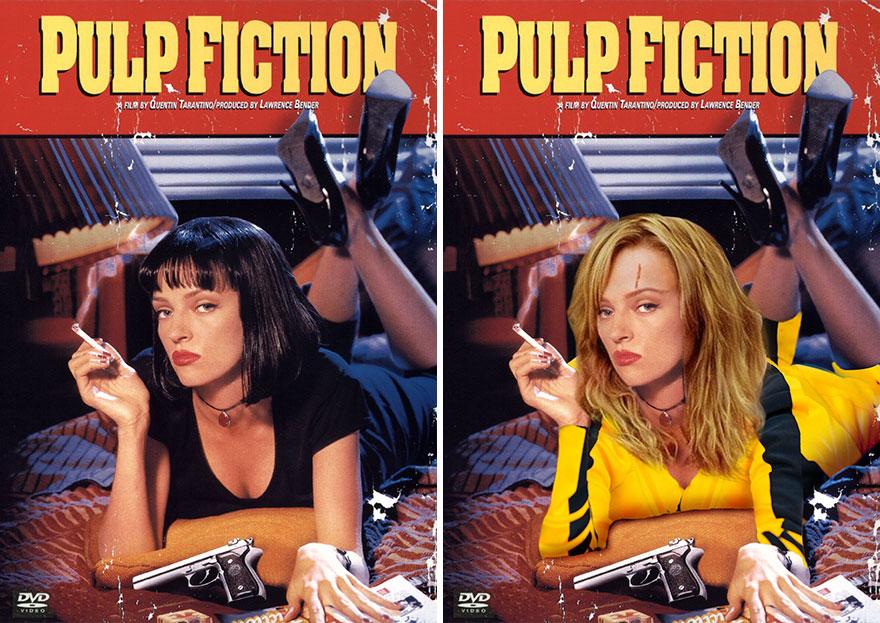 Beatrix Kiddo In Pulp Fiction