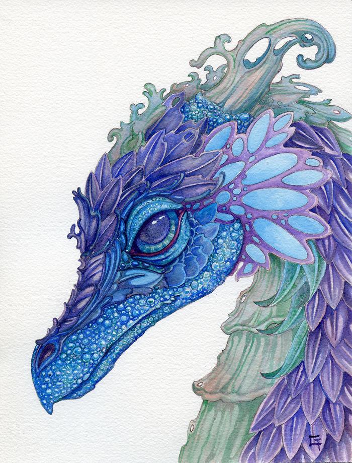 Wild Iris Dragon