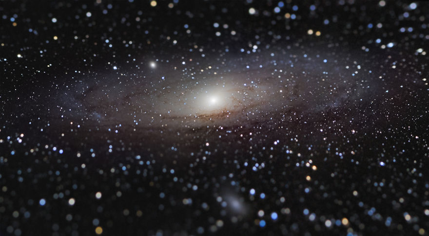 Galaxies Winner And Overall Winner - 'Andromeda Galaxy At Arm's Length' By Nicolas Lefaudeux