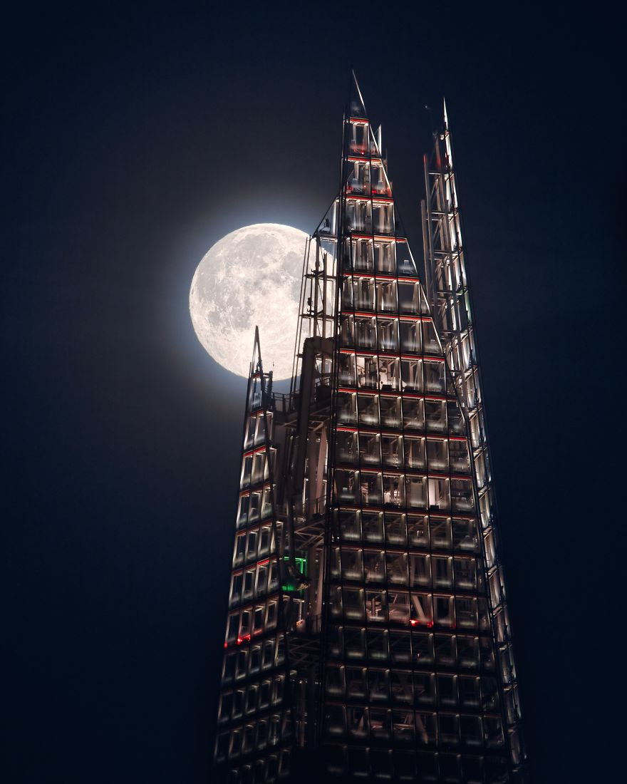 Shortlist - 'The Moon And The Shard' By Mathew Browne